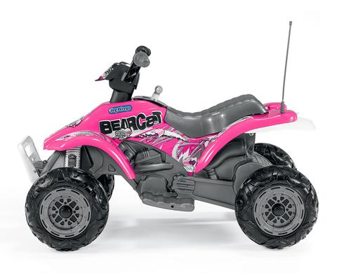 Детский квадроцикл Peg Perego Corral Bearcat ED1166 розовый