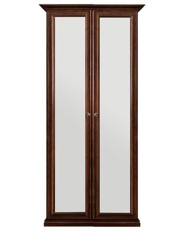 Шкаф БЕАТРИС 2-х створчатый с зеркалами орех