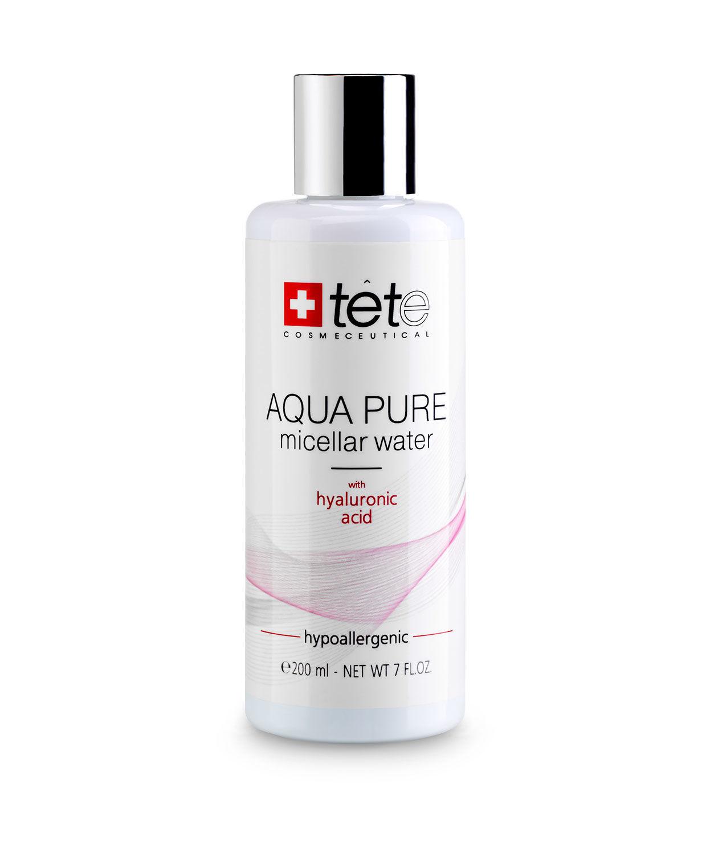 Мицеллярная вода с гиалуроновой кислотой / TETe AQUA PURE Micellar water, 200 мл
