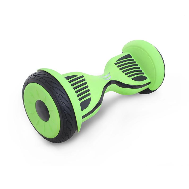 Hoverbot C2 Light зеленый-черный матовый (Bluetooth-музыка + сумка) - 10,5 дюймов - лучший выбор!, артикул: 835931