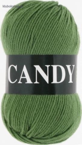 Пряжа Vita: Candy цвет 2538 Зеленый - купить в интернет-магазине
