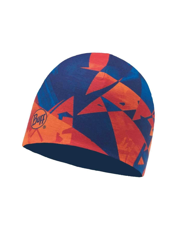 Тонкая шапка из 2-слойного полиэстра Buff Hat 2 layers polyester Rush Multi - Blue Skydiver