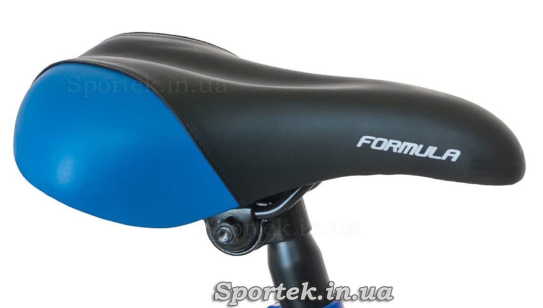 Сидение горного детского велосипеда Formula Lime - сине-черное