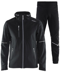Утепленный лыжный костюм Craft Highland Force Black мужской