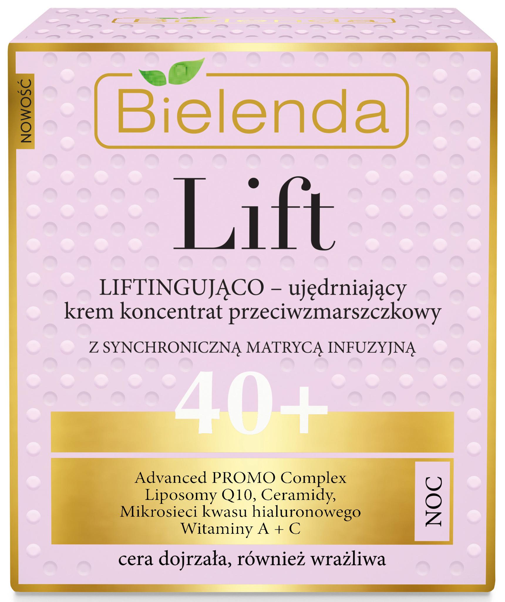 LIFT Укрепляющий лифтинг крем-концентрат против морщин 40+ ночной, 50 мл