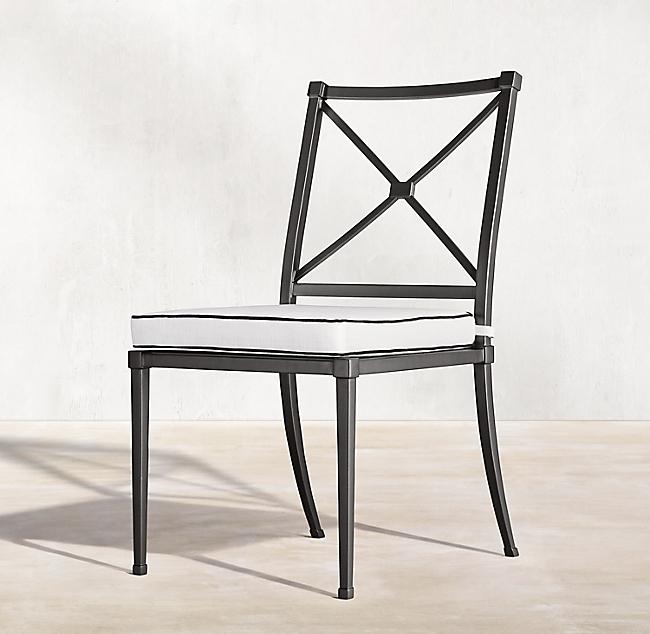 уличный алюминиевый стул Trousdale