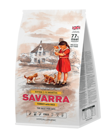 SAVARRA KITTEN TURKEY&RICE