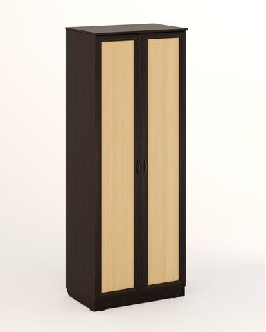 Шкаф ЛОМБАРДИЯ-05 рамочный венге / дуб беленый