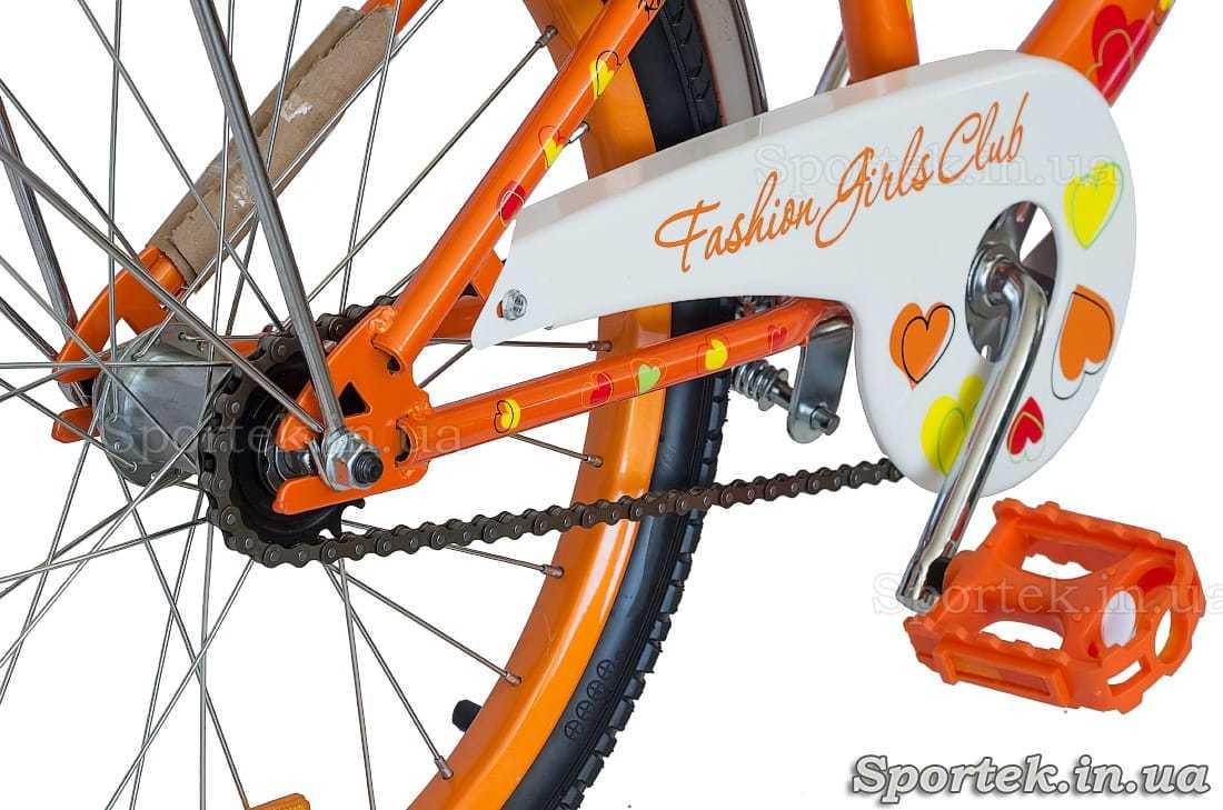 Велосипед Formula Flower 2017 - трансмиссия