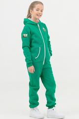 """Детский комбинезон """"Basic Soft kids"""" зеленый с начесом"""