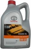 Toyota Engine Oil 0W-20- Синтетическое моторное масло