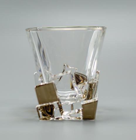 Набор стаканов для виски «Ice gold», 6 шт