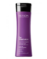 Revlon Professional Be Fabulous C.R.E.A.M. Keratin Shampoo - Очищающий шампунь с кератином