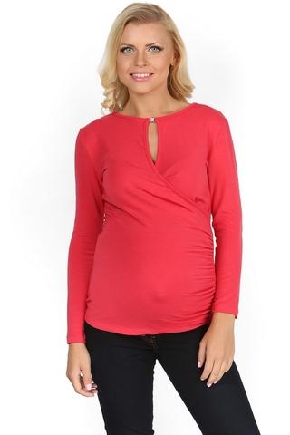 Блузка для беременных 01043 розовый