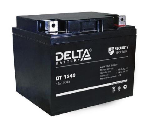 DT 1240 аккумулятор 12В/40Ач Delta