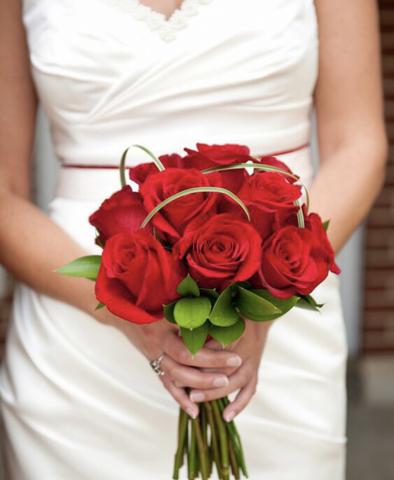 Свадебный букет #1445