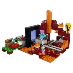 Конструктор LEGO Minecraft Портал в Подземелье 21143