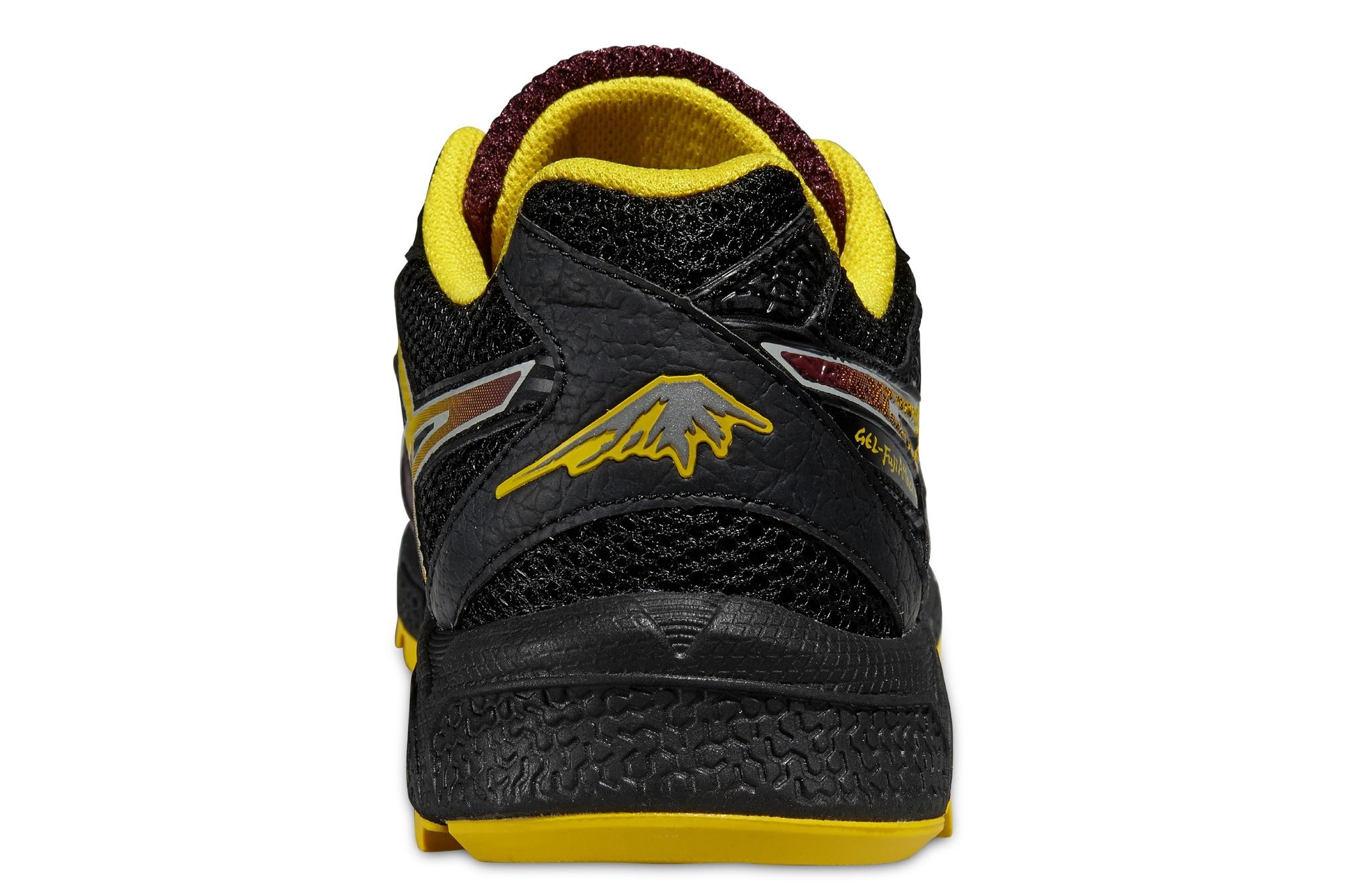Мужские беговые кроссовки Asics Gel-FujiAttack 4 (T534N 2904) коричневые фото
