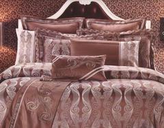 Постельное белье шелковый жаккард с вышивкой Valtery L 31
