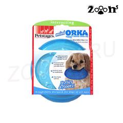 Petstages игрушка для собак Mini ОRКА Летающая тарелка, 15 см