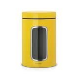 Контейнер для сыпучих продуктов с окном 1,4 л, артикул 486043, производитель - Brabantia