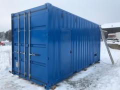Цельносварной антивандальный контейнер для оборудования мощностью до 1500 кВт, длина 12000