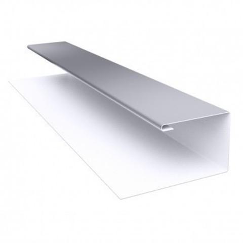 Планка j-профиля полиэстер 24х18х3000 мм