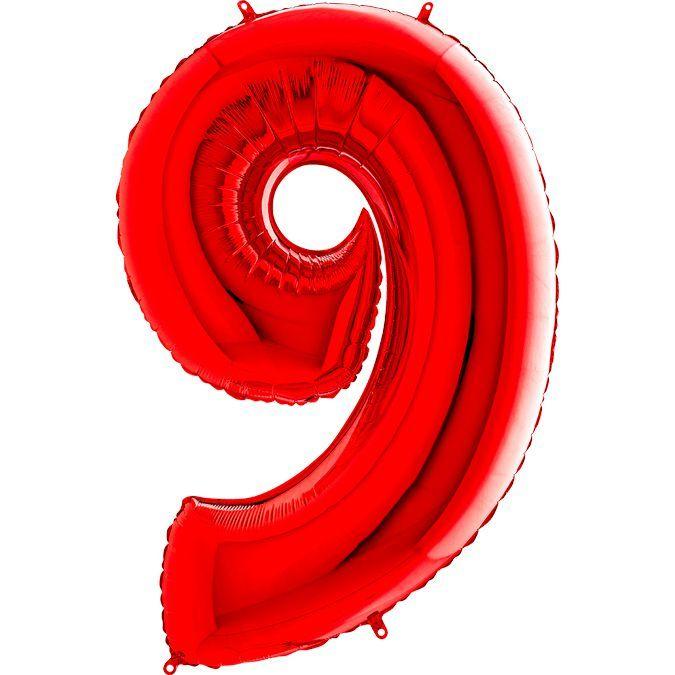 Шары цифры Шар цифра 9 Красная IMG_1018.jpg
