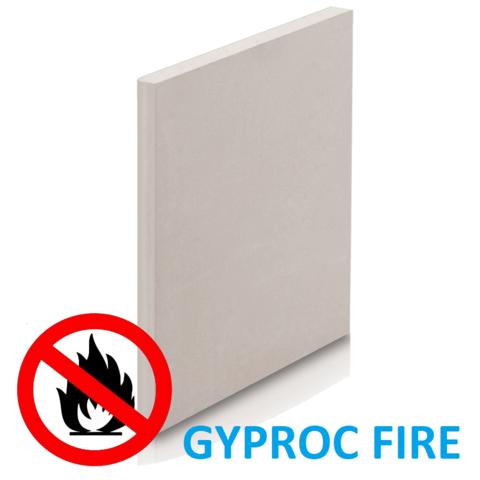 плита гипсовая негорючая GYPROC FIRE