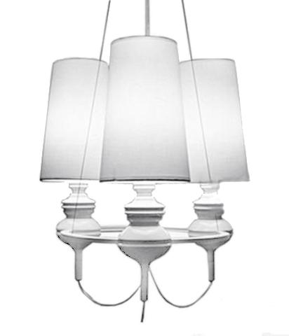 replica Jaime Hayon  Josephine chandalier 3 lamps (white)