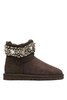 UGG JJIMMY CHOO MULTICRYSTAL CHOCOLATE