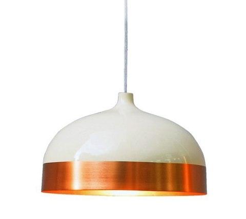 replica Innermost Glaze Pendant - Cream & Charcoal