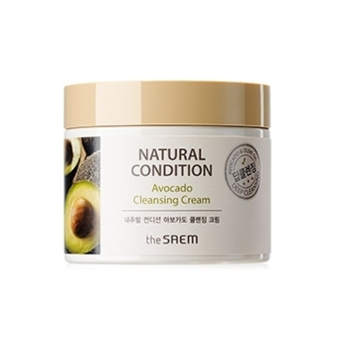 THE SAEM Natural Condition Крем очищающий авокадо (New) Natural Condition Avocado Cleansing Cream  300мл