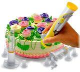 Простой способ украсить торт, пирожное, кекс - это воспользоваться ...