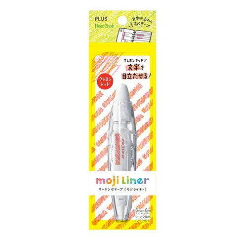 Роллер Plus Deco Rush moji Liner (Crayon Red)
