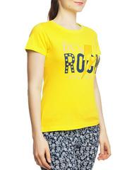 8526-5 футболка женская, желтая