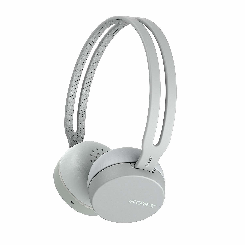 Беспроводные наушники Sony WH-CH400, цвет серый