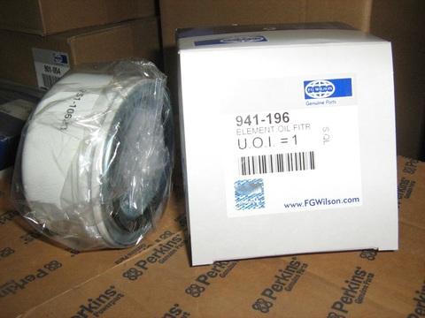 Фильтр масляный, элемент / ELEMENT,OIL FIT АРТ: 941-196