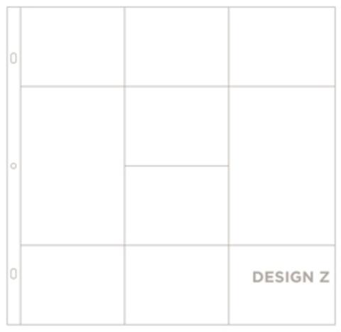 Фотофайлы Project Life-Дизайн Z-штучно