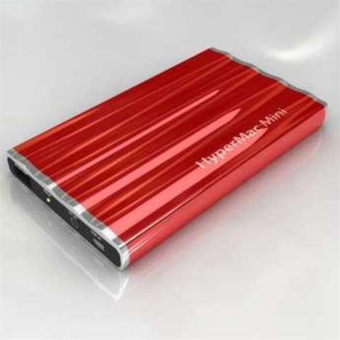 HyperMac Mini 7200mAh – внешняя батарея для iPhone/iPod (Red)