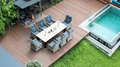 Набор обеденный садовой мебели Парклэнд