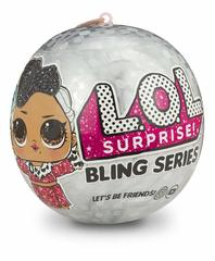 Кукла - сюрприз ЛОЛ Праздничный сюрприз на елку - L.O.L Surprise. Bling Series, MGA