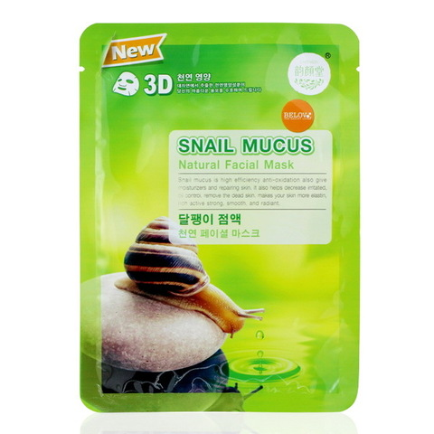 Маска для лица Belov Snail Mucus Natural 3D Facial Mask, 38 гр