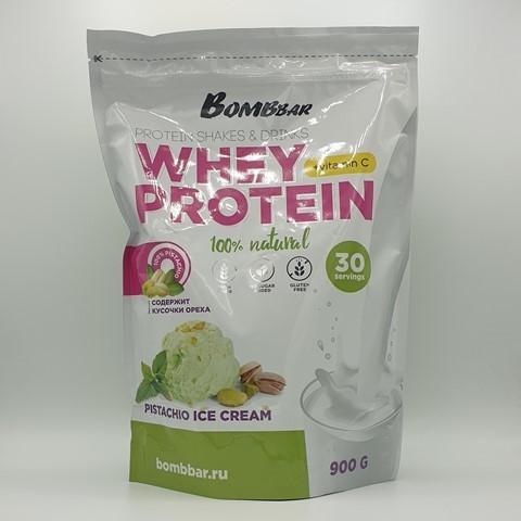 Сывороточный протеин + Vitamin C вкус Фисташковое мороженое BOMBBAR, 900 гр