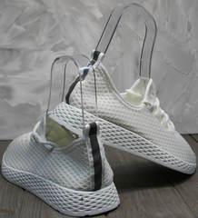 Кроссовки на лето женские Small Swan NB283-2 All White.