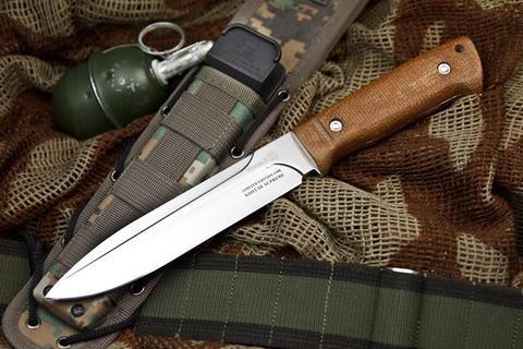 Тактический нож Ворон-3 Текстолит MOLLE Kizlyar Supreme Edition