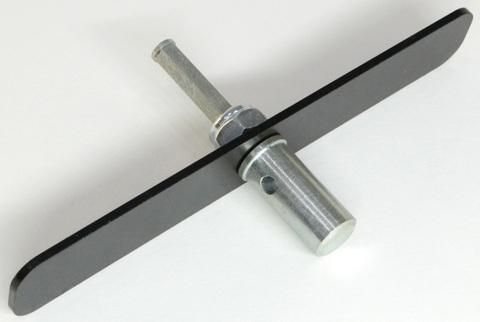 Адаптер с планкой к шуруповерту для ледобуров Mora Ice 18 мм