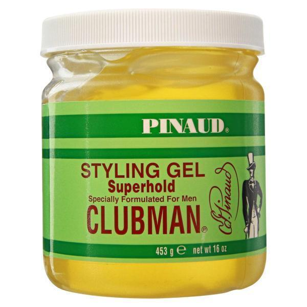 Гель для укладки Clubman очень сильной фиксации