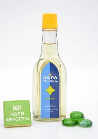 Alpa францовка Арника – спиртовый травяной раствор ( при воспалении суставов и вен)