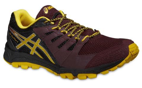 Мужские кроссовки Asics Gel-FujiAttack 4 (T534N 2904) коричневые